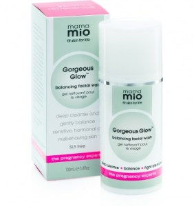 Mama Mio | Gorgeous Glow Facial Wash | Shop all Mama Mio products here
