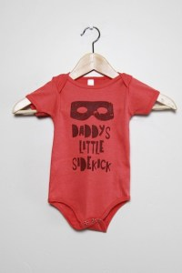 Slyfox Threads | Daddy's Little Sidekick onesie