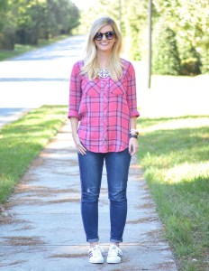 Comfy in Plaid