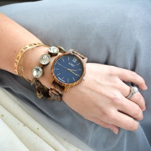 Cold Weather Couture with JORD wood watches!
