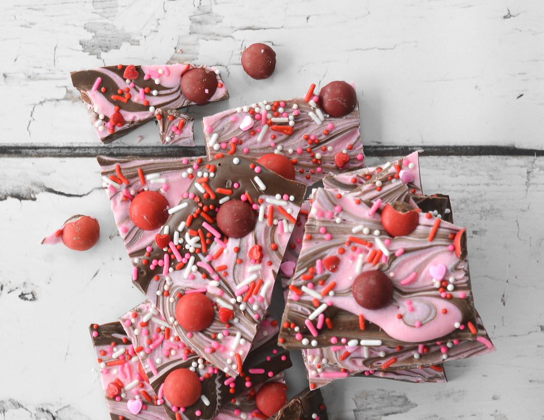 Cherry Chocolate Valentine S Bark
