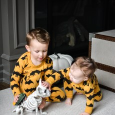 Matching Halloween Jammies