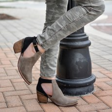 My Favorite Low-Heel Booties For Fall