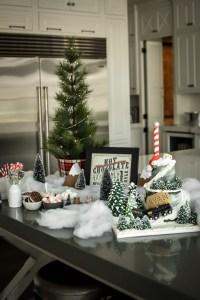 Hot Chocolate Bar for Ryan's Polar Express Birthday
