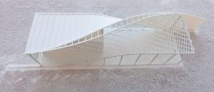 3D-gedrucktes Modell C³-Ergebnishaus CUBE