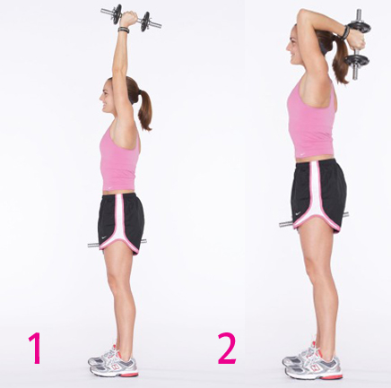 Backward Bounce. Make sure to tighten your core to create balance.