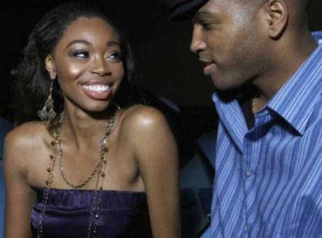 black-couple-flirting