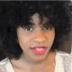 black women with long 4C hair