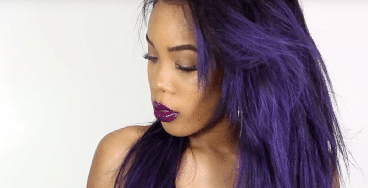 How To Color Your Hair Purple Without Using Permanent Dyes
