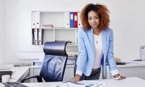 successful career woman