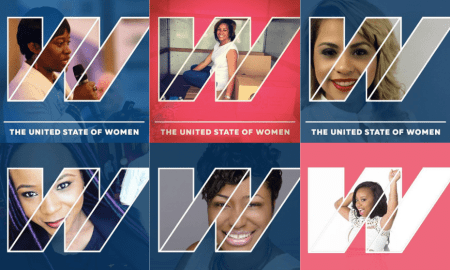 Collage of United State of Women photos