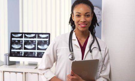 doctor black woman