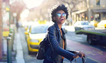 Black woman travel