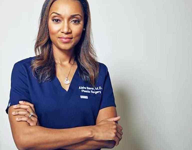 dr aisha baron plastic and reconstructive surgeon based in atlanta gergia