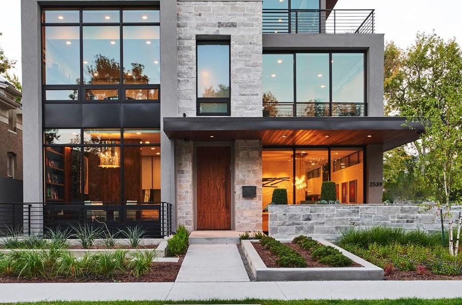 home value contemporary home