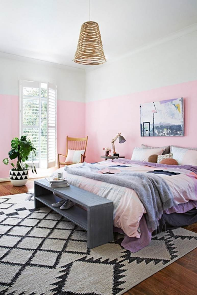 pretty women bedroom staycation