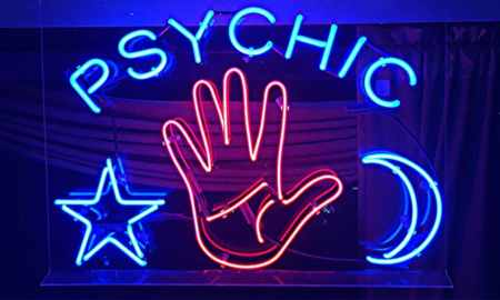sign for a psychic reading