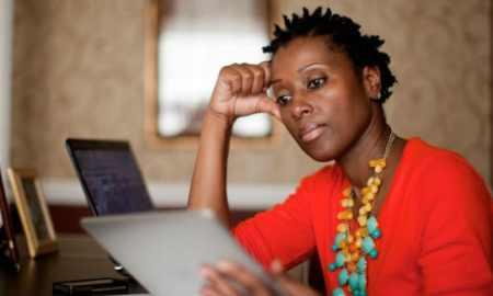black tech woman