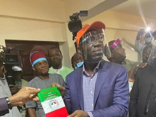 BREAKING: Edo Governor, Obaseki officially joins PDP