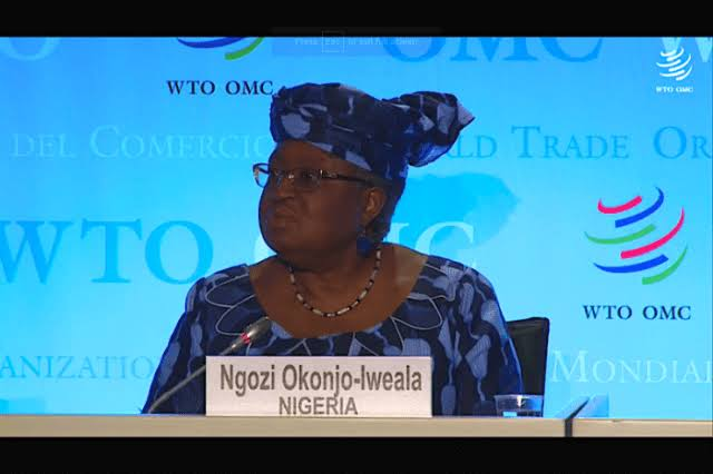 WTO: Okonjo-Iweala on the Cusps of History