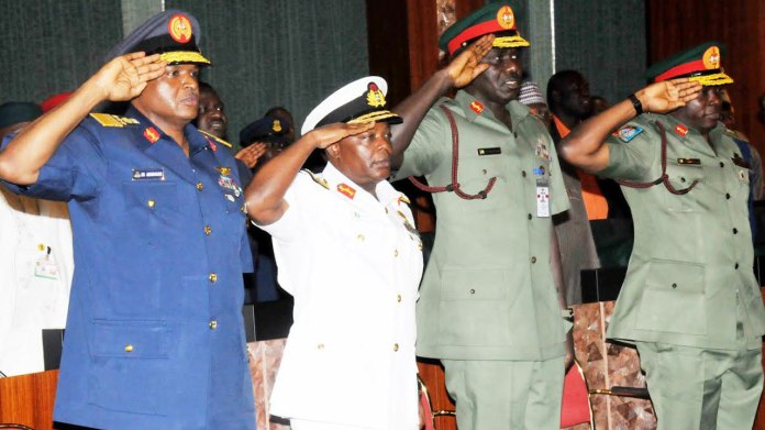 BREAKING: Buhari Sacks Service Chiefs, Names Replacements