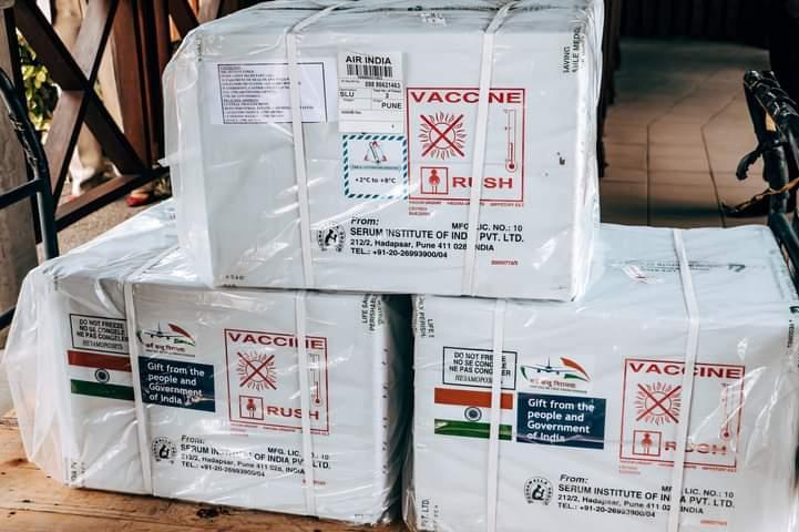 COVID-19: Oxford-AstraZeneca vaccines arrive in Nigeria