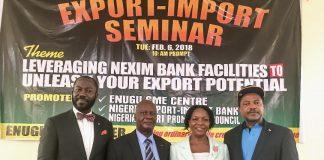 NEXIM Export- Import Seminar in Enugu
