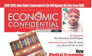 Economic Confidential Cover