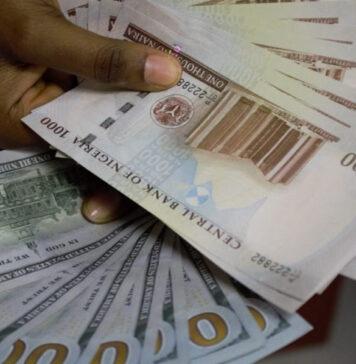 Naira Against Dollar