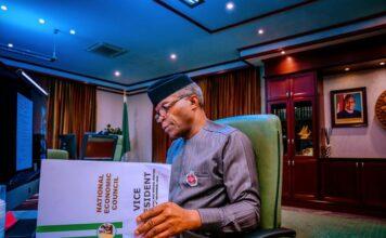 Vice President of Nigeria, Prof. Yemi Osinbajo