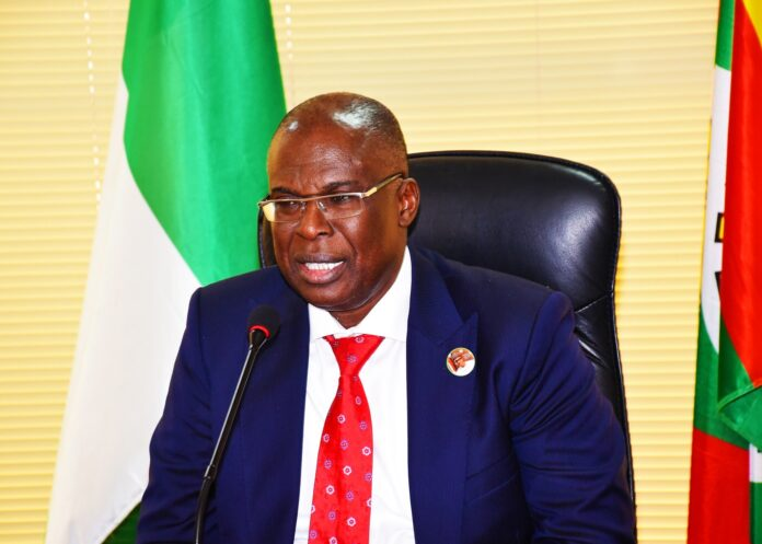 The Minister of State for Petroleum Resources, Chief Timipre Sylva