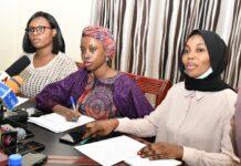 Chiamaka Asuozu Glory, Zubaida Bala Ibrahim and Nafisat