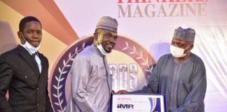 Yushau Shuaib CEO of IMPR Bags Thinkers Award