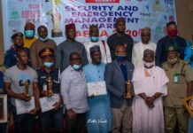 Winners and Guests at SAEMA Awards 2020 in Abuja