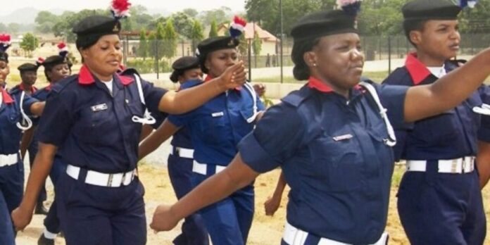 Female NSCDC Officers