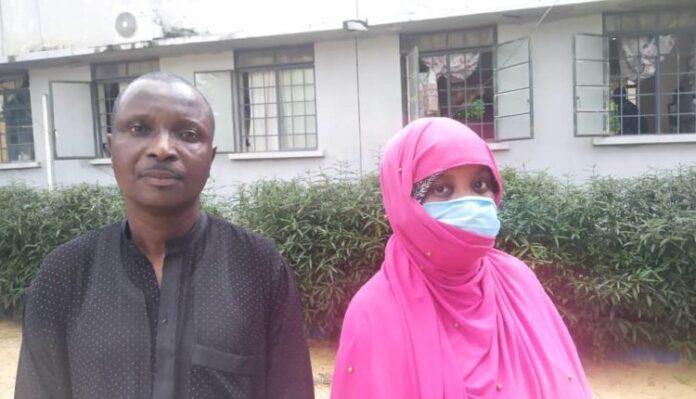 Abubakar Sadiq and Maryam Sadiq