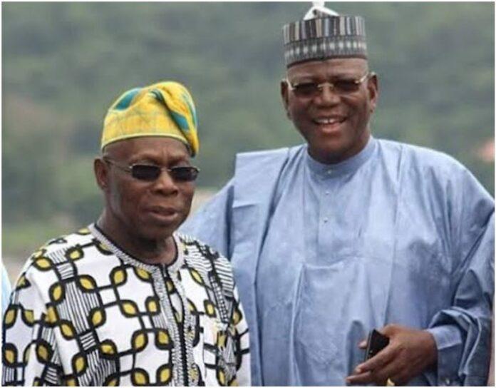 Olusegun Obasanjo and Sule Lamido