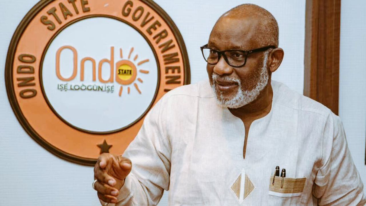 We'll continue to create enabling environment for our artisans, says Akeredolu