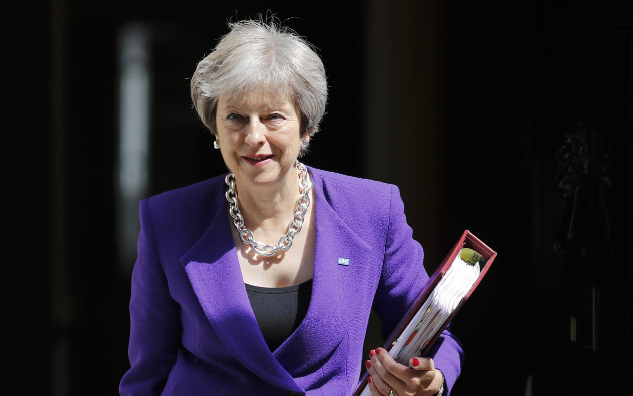 UK's May says she is