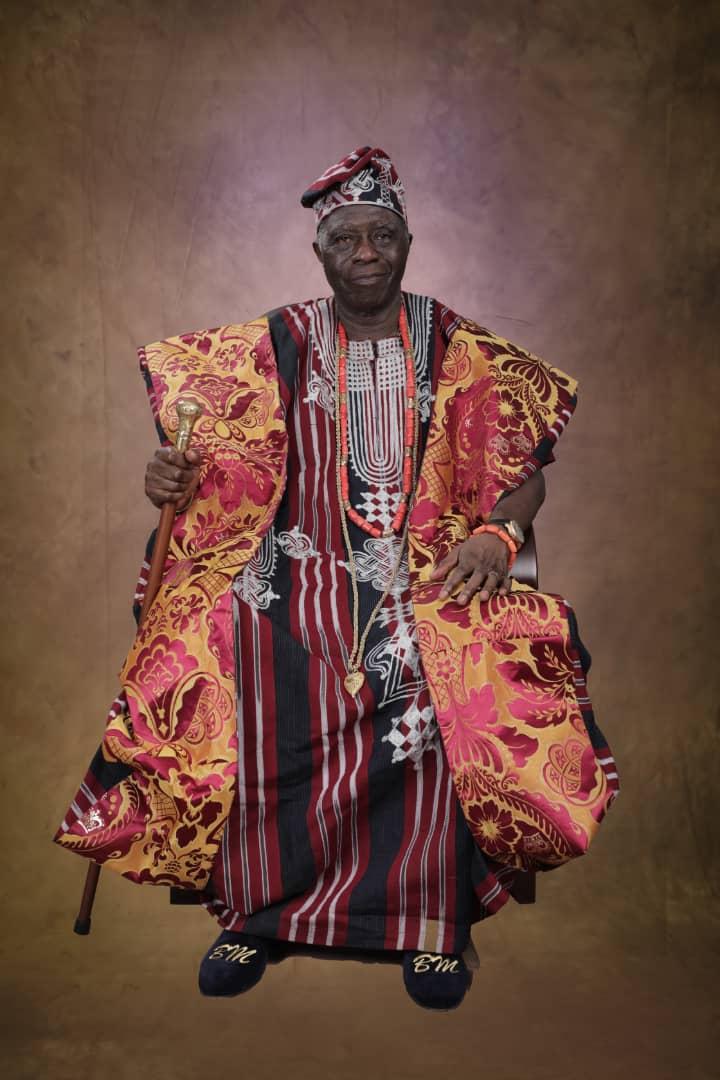 Osi of Egbaland, Chief Akeem Olabode Mustapha