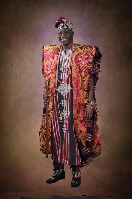 Osi of Egbaland Chief Akeem Olabode Mustapha