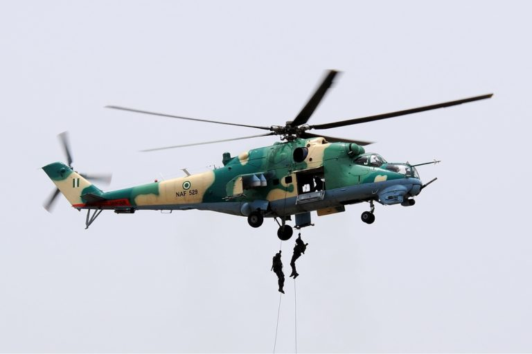NAF Dislays Combat Aircrafts at Competition