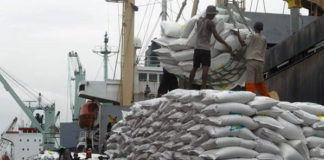 imported rice