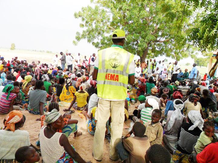 NEMA Relocates IDPs to New Camps in Borno State