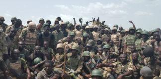 Nigerian troops