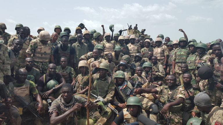 Breaking: Nigerian Troops Recover Marte, Scores of Terrorists Killed