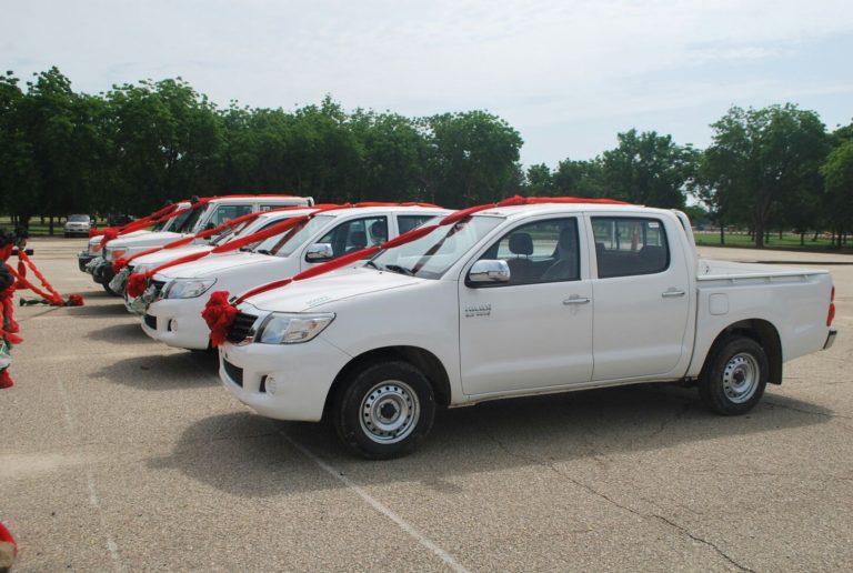 Trucks Donated to MNJTF Against Insurgency