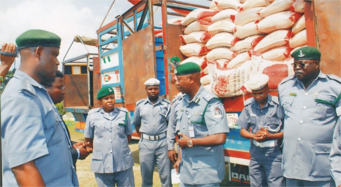 NCS Releases Truckloads of Rice, Oil, Clothes for Coronavirus Palliative