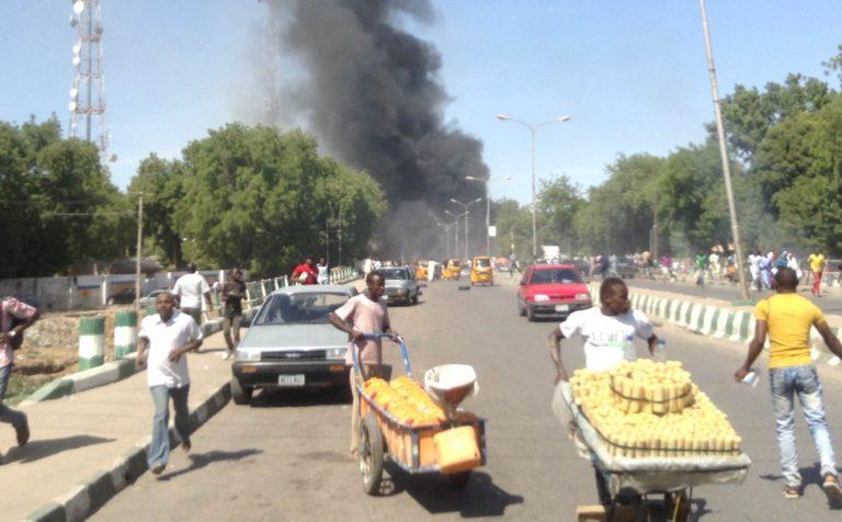 Bomb Blasts in Madagali, Adamawa State