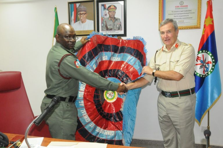 Britain Supports Nigerian Military
